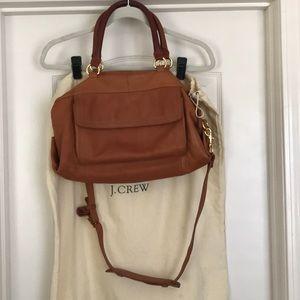 J.Crew Brown satchel handbag